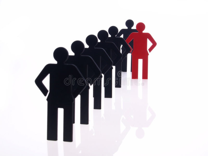 Sign people on white background stock photos