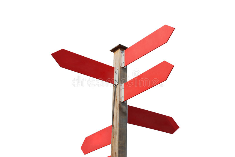 Sign post stock photography