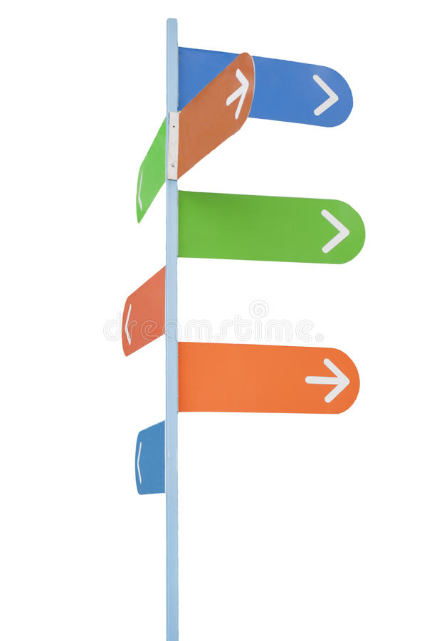 Download Sign post with arrows stock image. Image of sign, post - 19987401