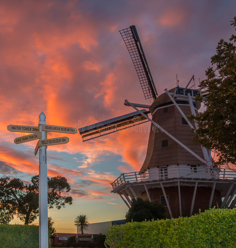 Download Sign Post Windmill stock photo. Image of power, molen - 51641904