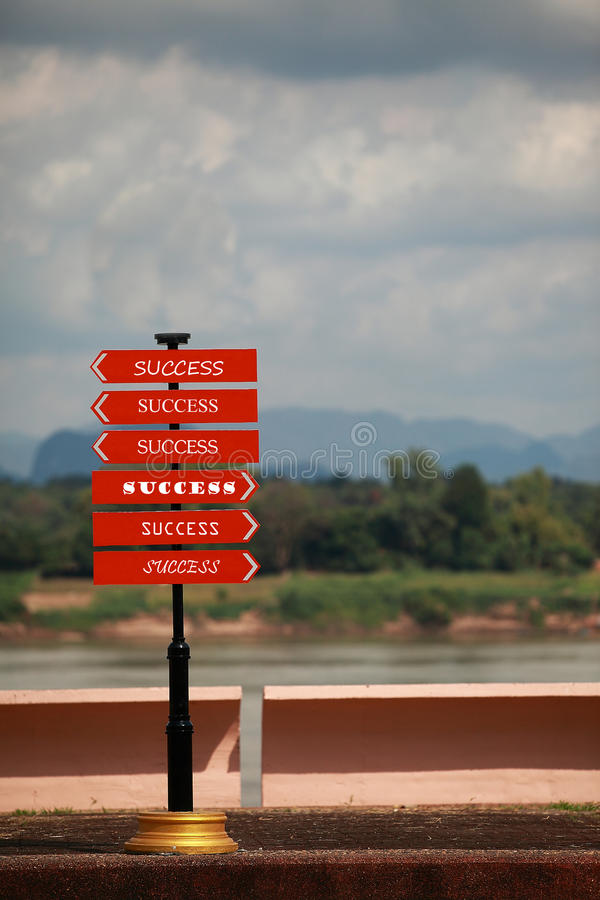 Sign Road Royalty Free Stock Image