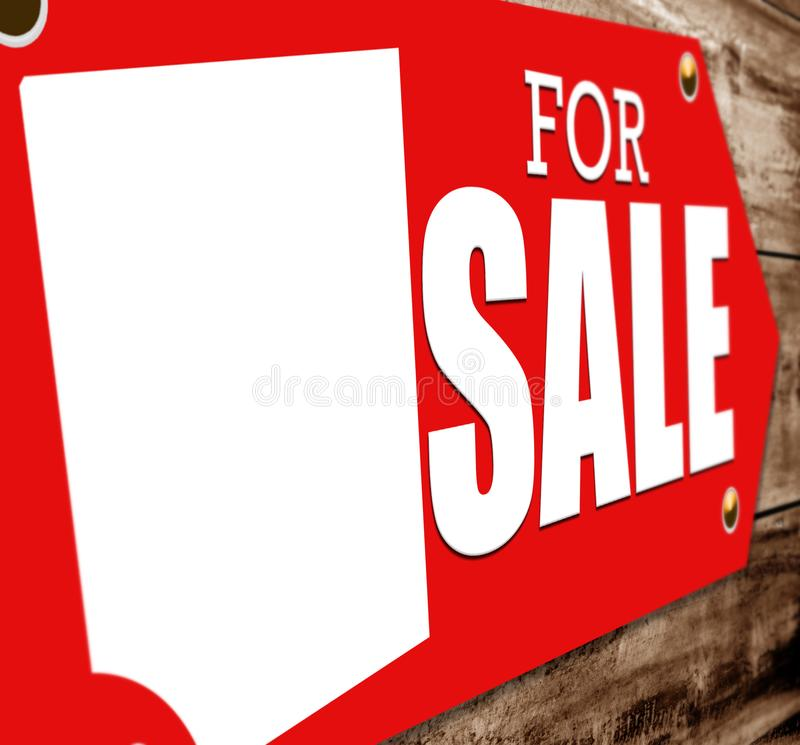 Sign for sale royalty free stock photos