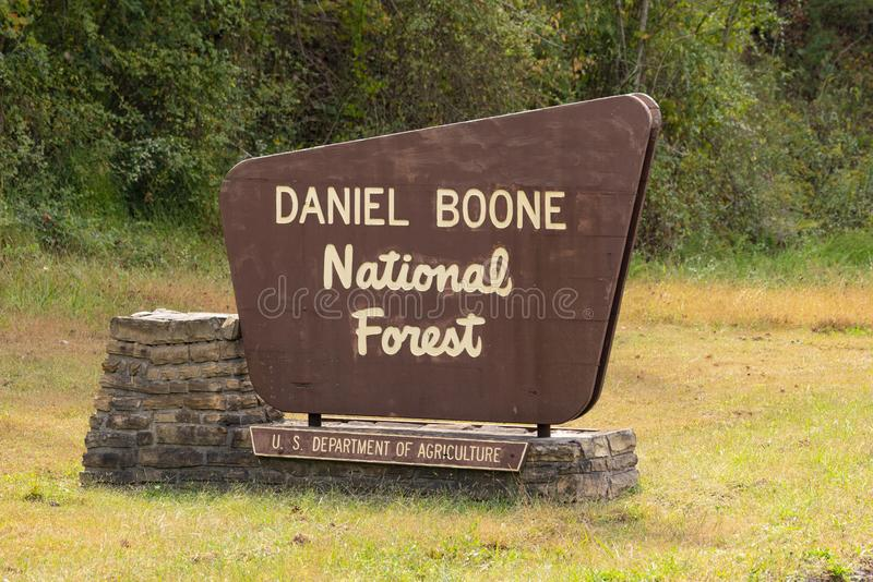 Daniel Boone stock photo. Image of park, louisville, daniel - 5920278