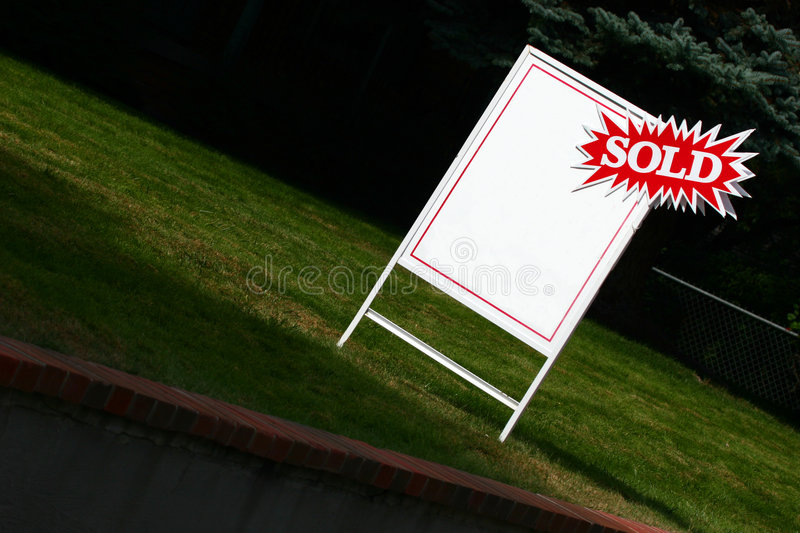 Sign of Success stock photography