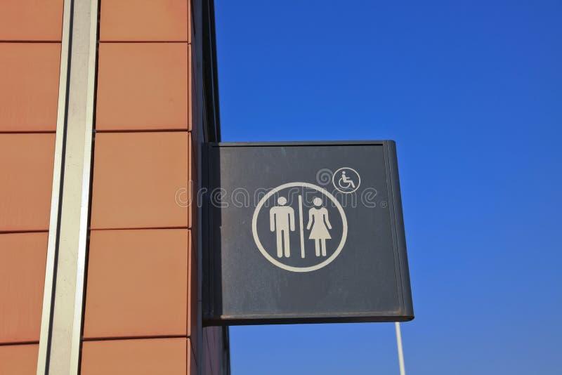 Sign Of Toilet Stock Photos