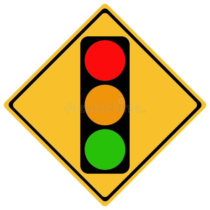 sign traffic ελεύθερη απεικόνιση δικαιώματος