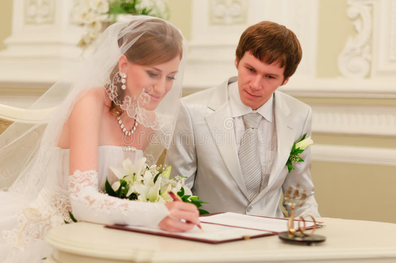 Download Sign Wedding Register Royalty Free Stock Photography - Image: 17463207