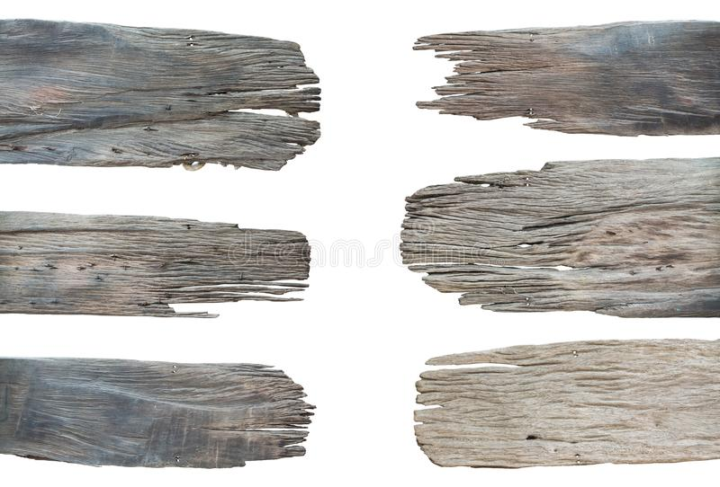 Sign wooden collection set isolated on white background white Cl. Ipping path royalty free stock image
