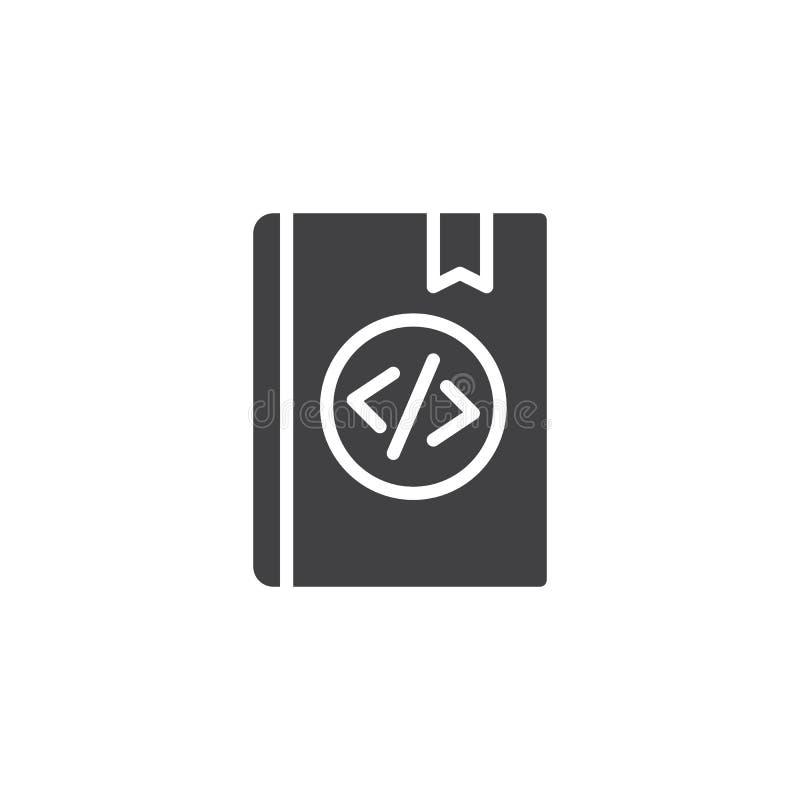 Signaalboek vectorpictogram stock illustratie