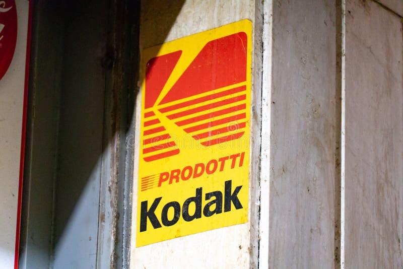 Signage de Kodak images libres de droits