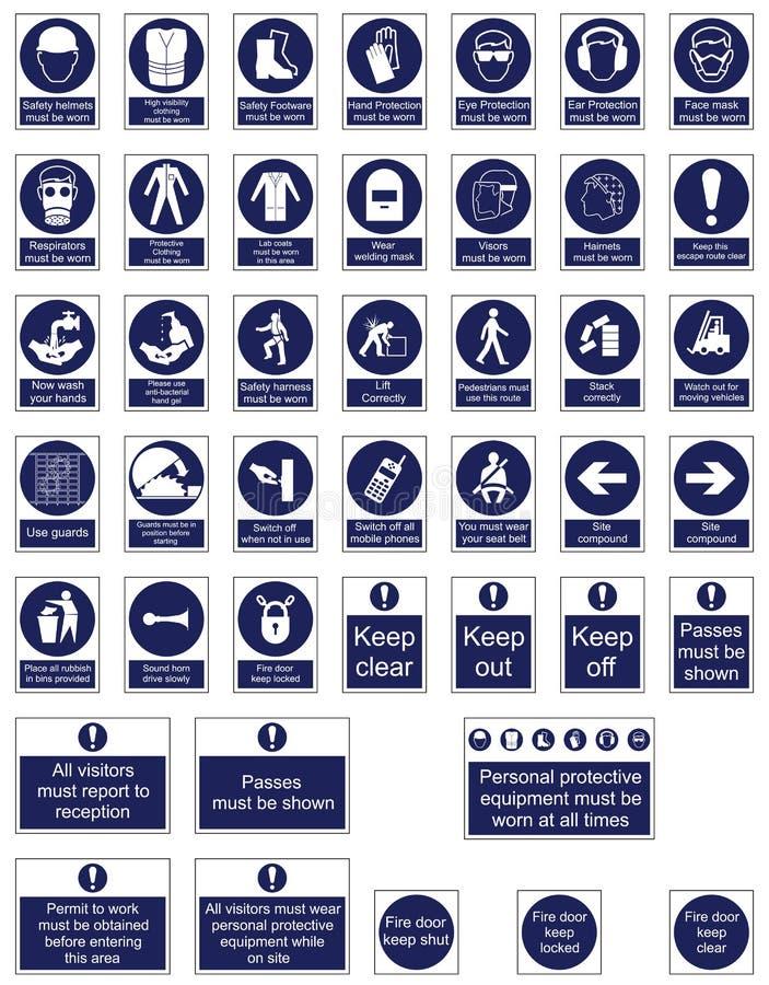 Signage imperativo ilustração royalty free