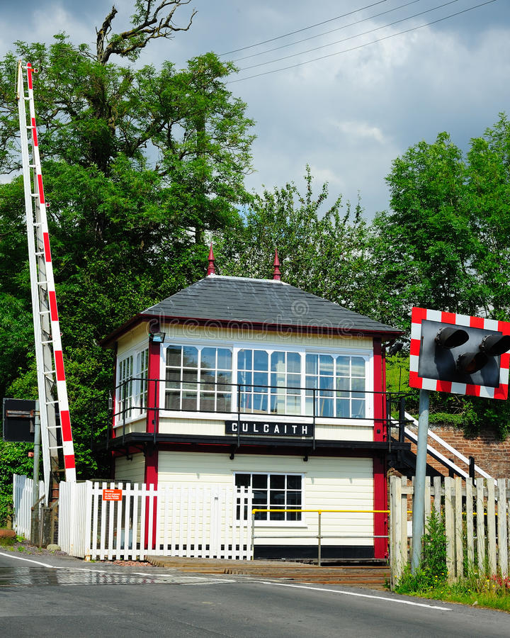 Download Signal Box stock photo. Image of railway, level, train - 20155046