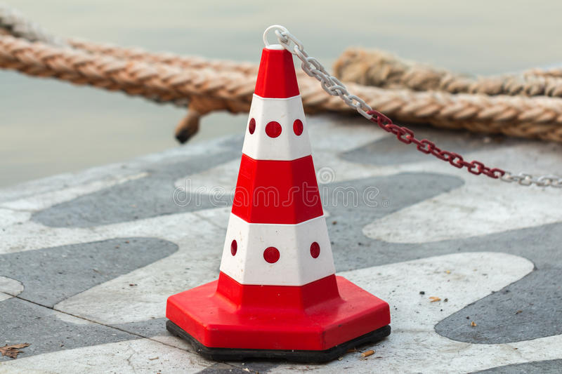 Signal cone. royalty free stock image