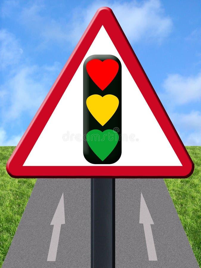 Signal d'amour illustration libre de droits