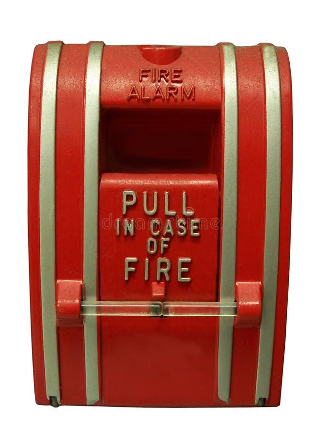 Signal d'incendie photographie stock