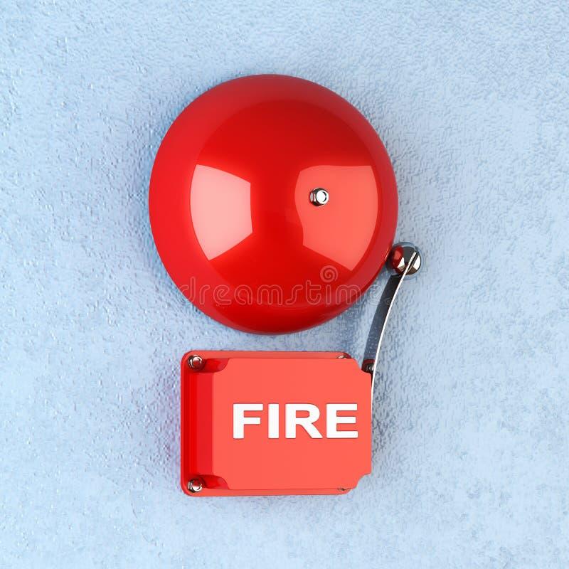 Signal d'incendie illustration de vecteur