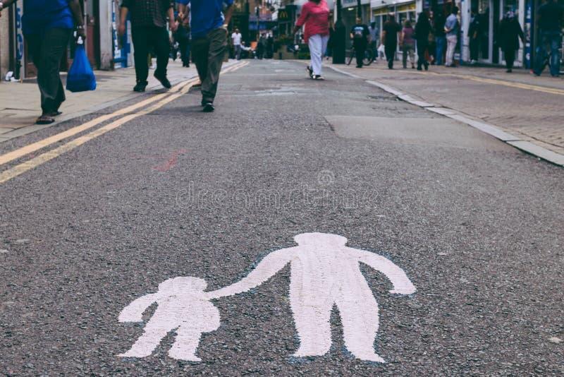 Signal de rue images libres de droits
