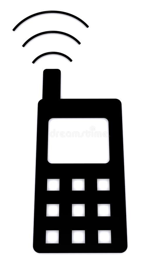 Signal de téléphone portable illustration stock