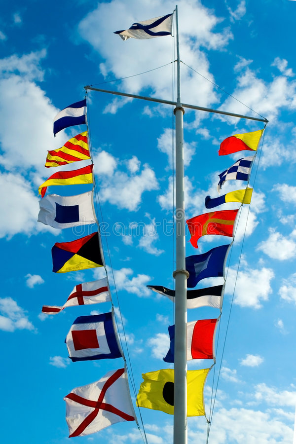 Free Signal Flags Royalty Free Stock Photos - 3083968