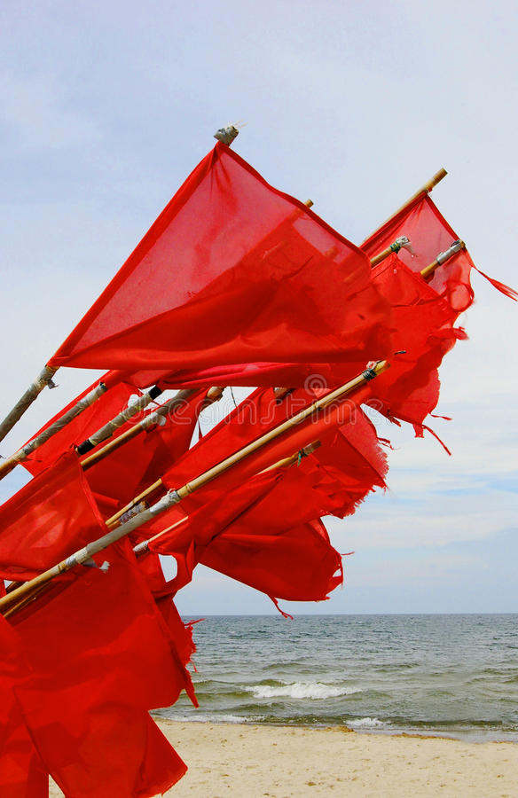 Download Signal Flags Collected On Shore Stock Image - Image of signal, fisherman: 25568277