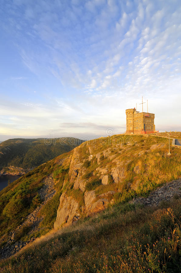 Download Signal Hill stock image. Image of tower, site, canada - 18237195