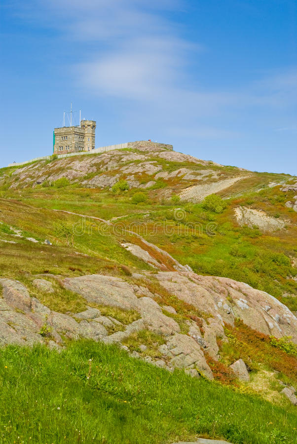 Download Signal Hill And Cabot Tower, St-John's Stock Photo - Image: 20130694