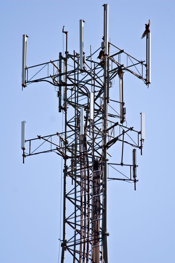 Signal-Kontrollturm stockbild