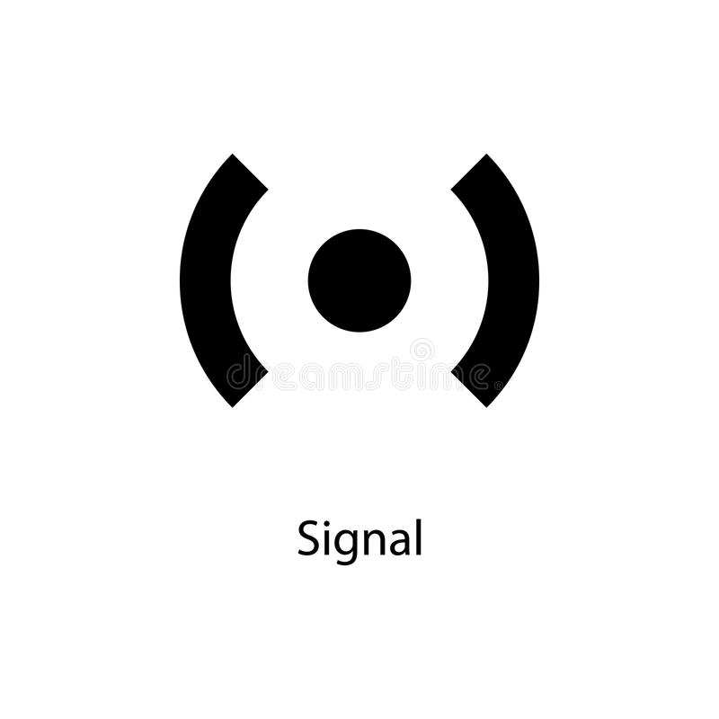Signal Sign Icon Element Of Minimalistic Icon For Mobile Concept