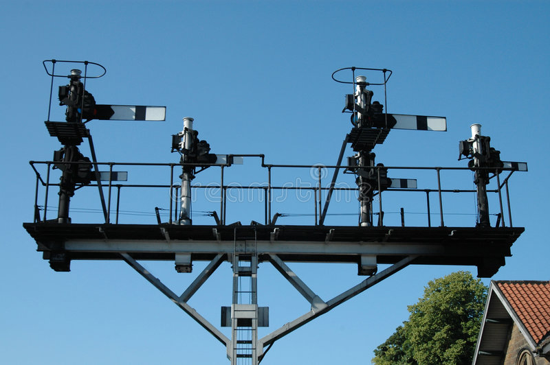 Download Signals stock image. Image of trains, goathand, railways - 591555