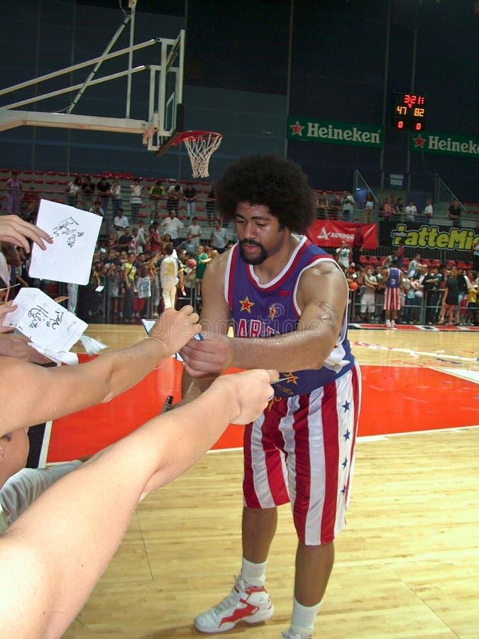 Signature d'un autographe photos libres de droits