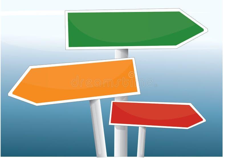 Signaux illustration de vecteur