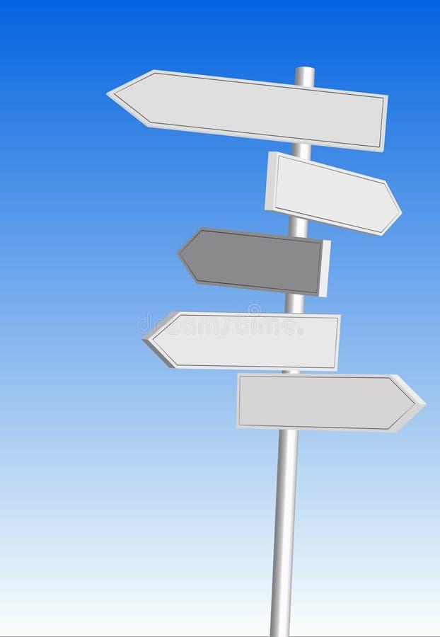 Signaux de direction illustration stock