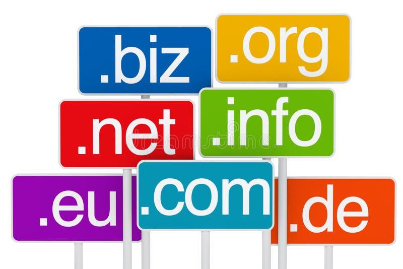 signboard домена бесплатная иллюстрация