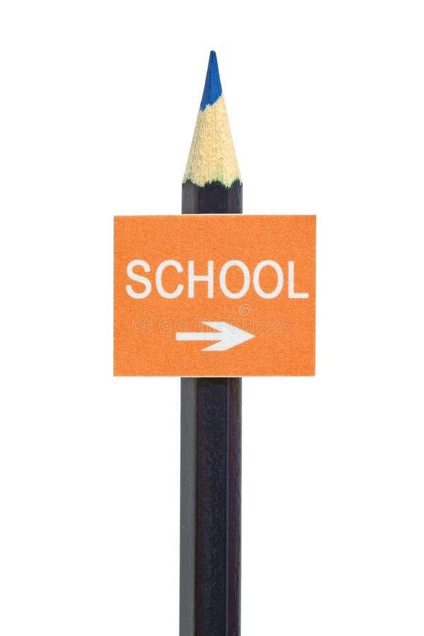 signboard имитации образования принципиальной схемы стоковая фотография