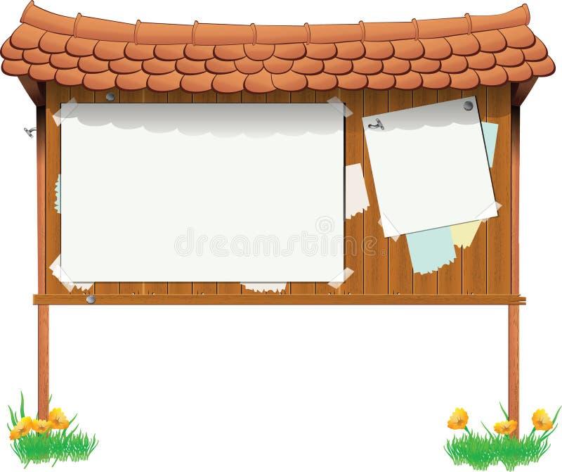 signboard иллюстрация штока