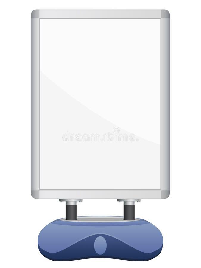 signboard иллюстрация вектора