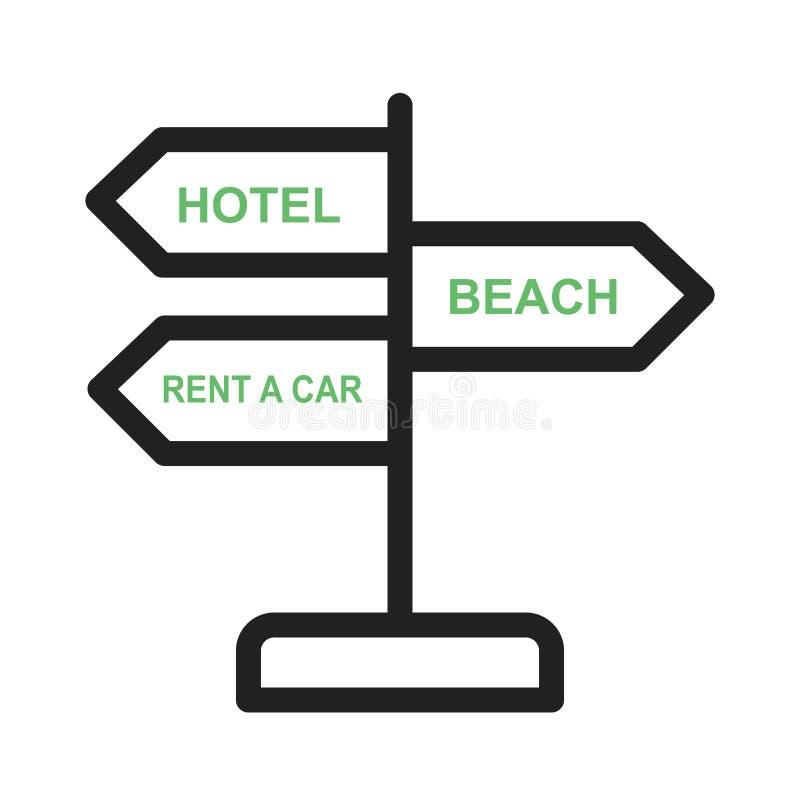 Download Signboard vektor illustrationer. Illustration av platta - 78731326