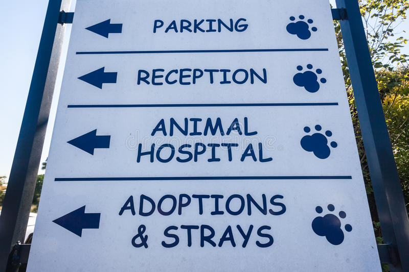Download Signboard Animal Hospital Veterinary Editorial Photo - Image: 31006961