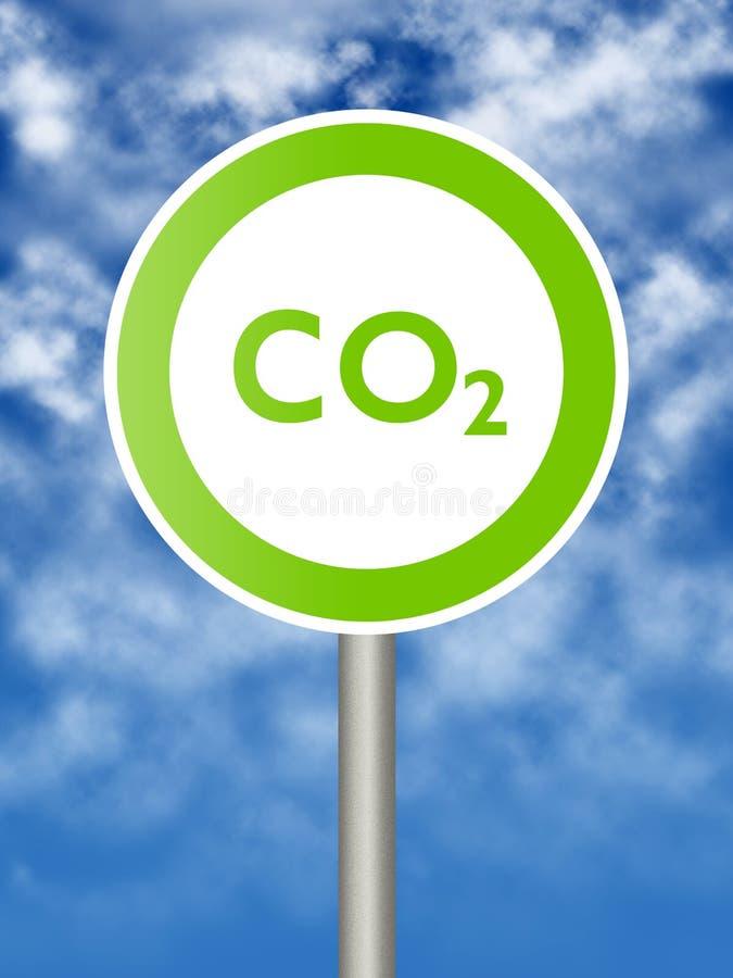signe écologique illustration stock