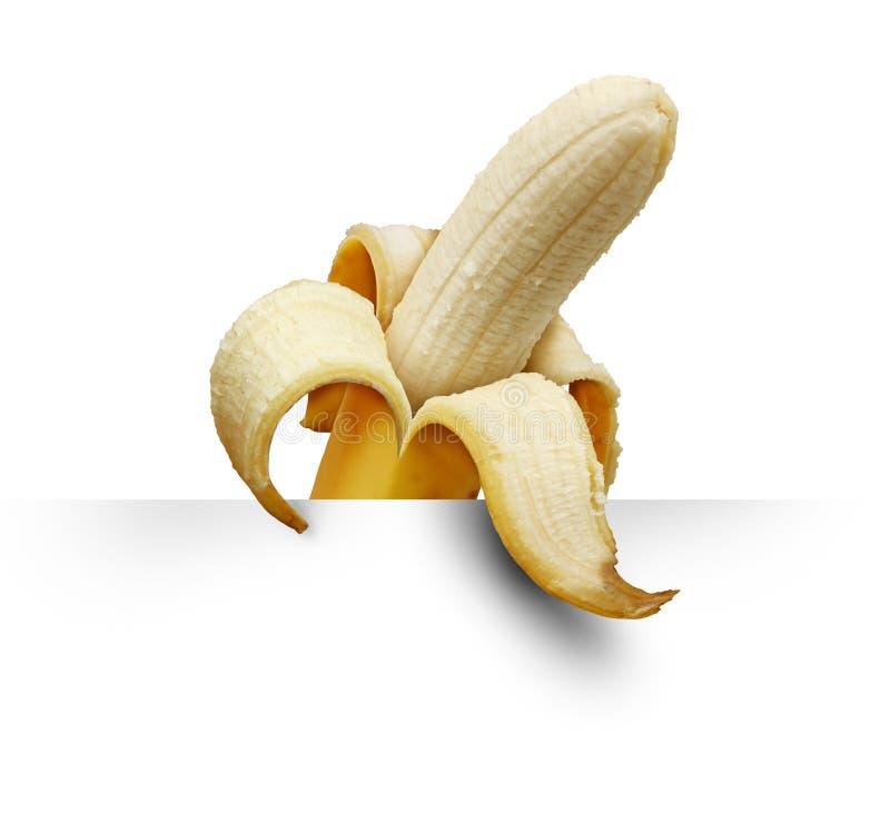 Signe bananier image stock