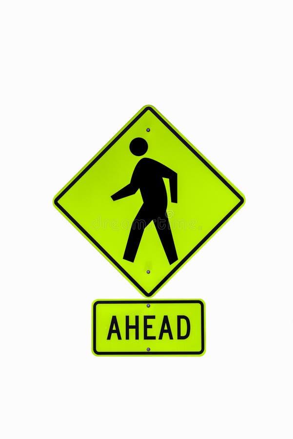 Signe crois? de promenade illustration libre de droits