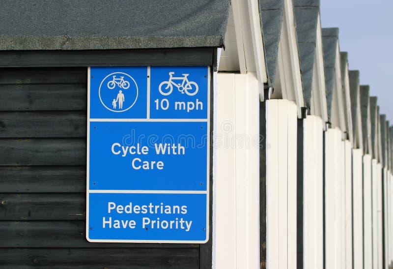Signe, Cycle Avec Soin Image libre de droits