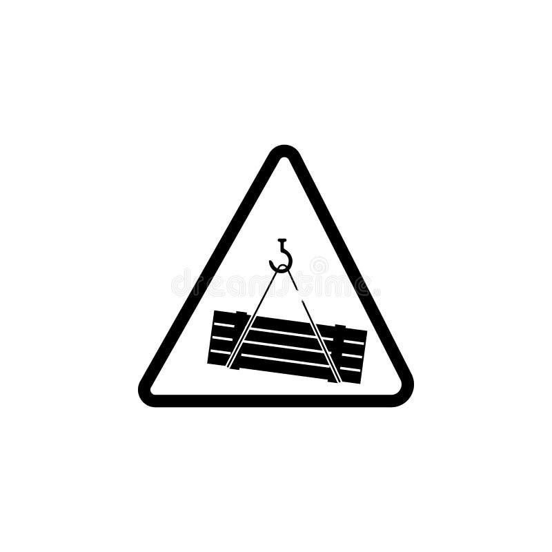 Signe d'icône de risque de chargement Élément de l'avertissement pour les apps mobiles de concept et de Web Icône pour la concept illustration libre de droits