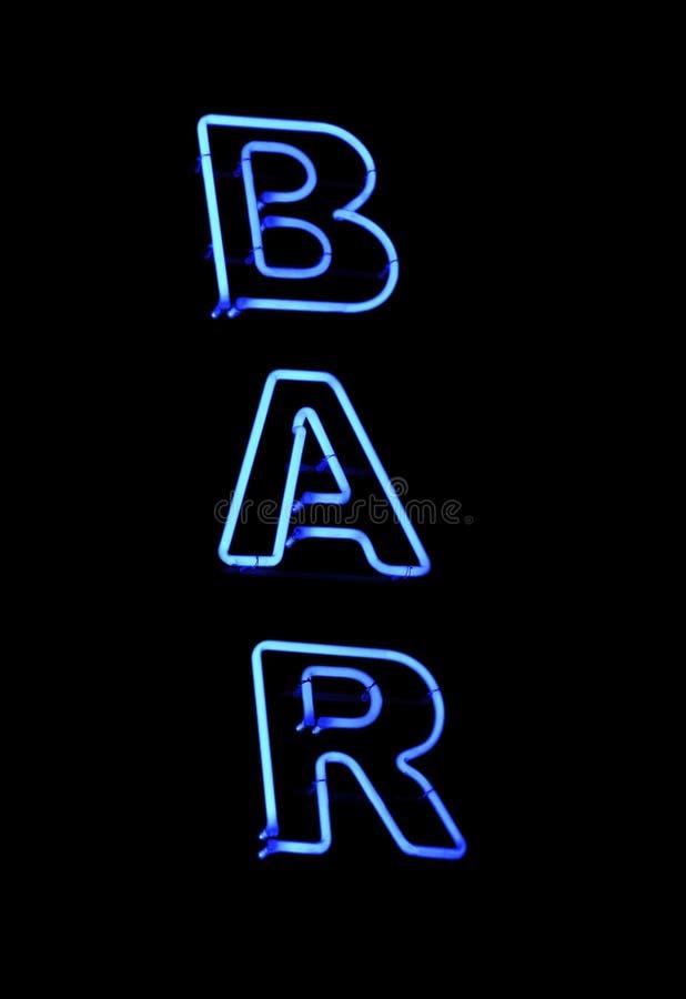 Signe de bar photographie stock libre de droits