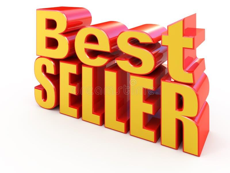 Signe de best-seller illustration stock