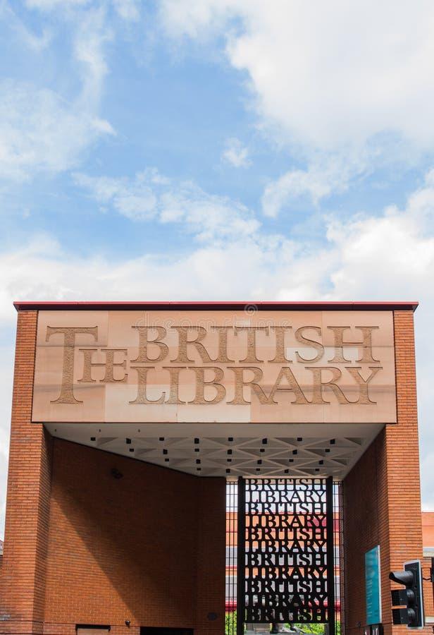 Download Signe De Bibliothèque Britannique Photographie éditorial - Image du littérature, éléments: 76084237