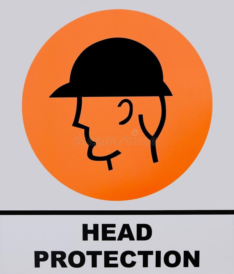 Signe de casque images libres de droits