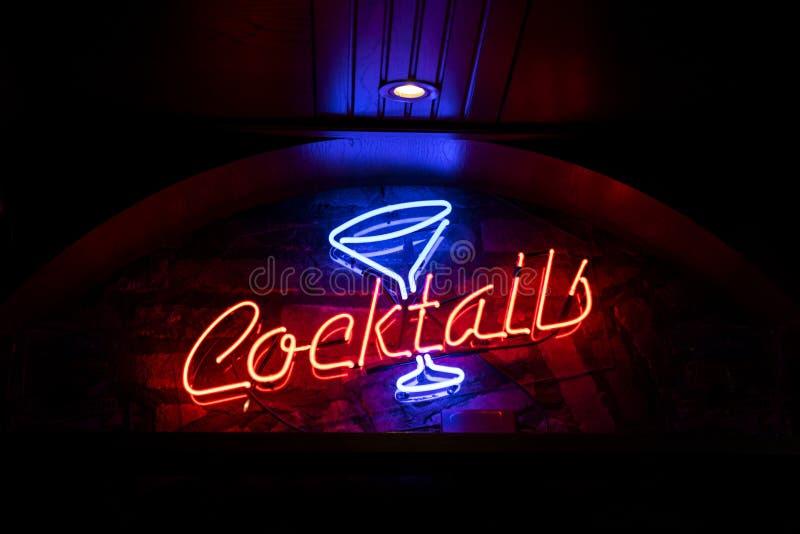 Signe de cocktails photos libres de droits