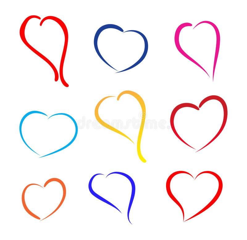 Signe de coeur illustration libre de droits
