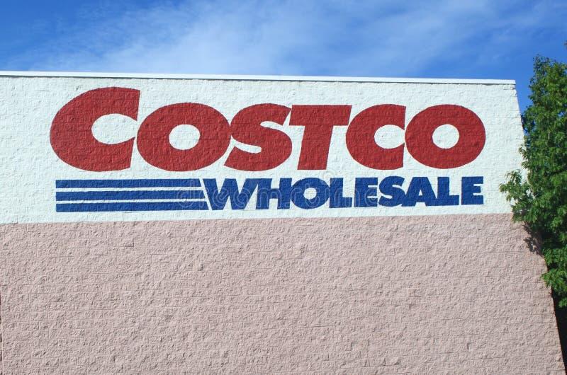Signe de COSTCO photo stock